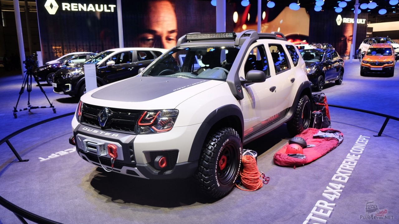 Renault Duster Tuning 4×4