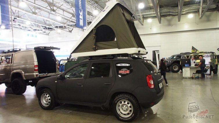 Рено дастер с палаткой на крыше