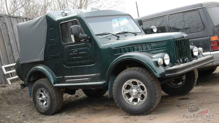 Самодельный пикап из ГАЗ-69