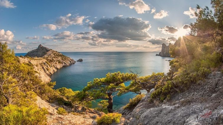 Царский пляж новый свет в Крыму