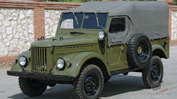 Тентованый ГАЗ-69