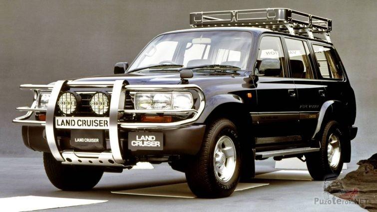 Toyota Land Cruiser 80 в обвесе
