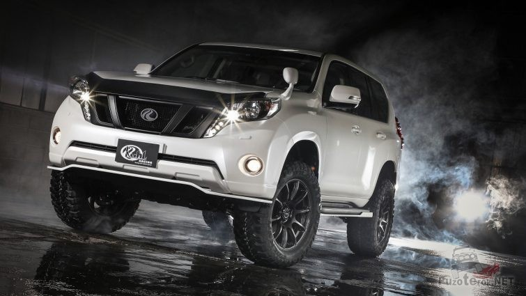 Toyota Land Cruiser Prado 2018 тюнинг