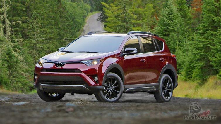 Toyota rav4 Adventure 2018 новый кузов