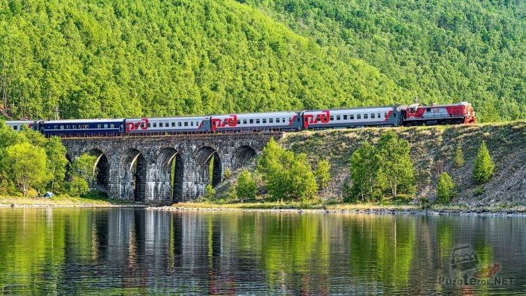Транссибирская железная дорога фото