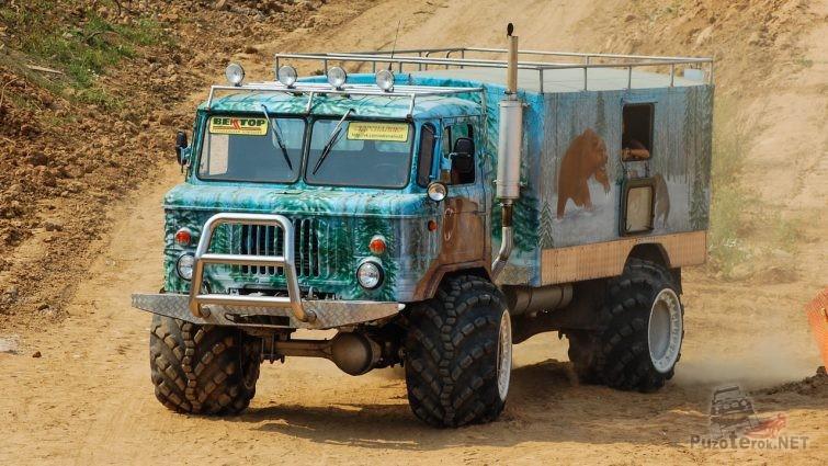 Тюнинг ГАЗ-66 для охоты и рыбалки