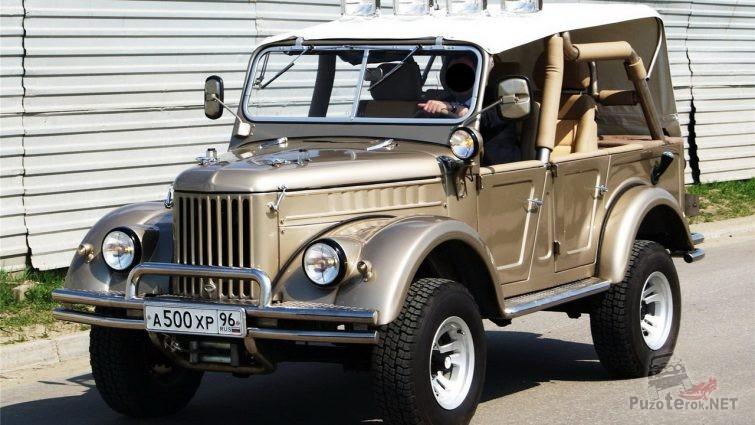Тюнинг ГАЗ-69 А