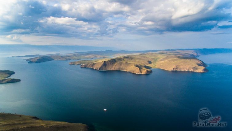 Вид на остров Ольхон