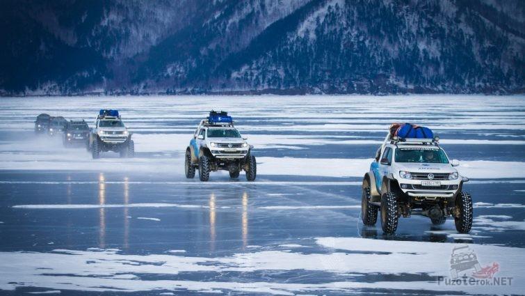 Внедорожники на Байкале