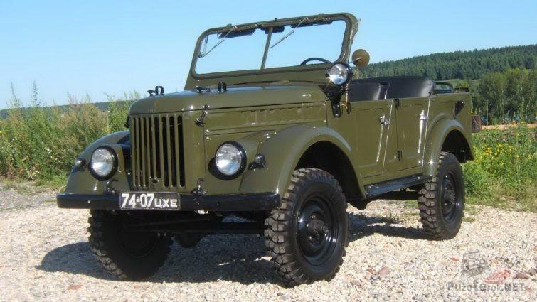 Военный ГАЗ-69 А
