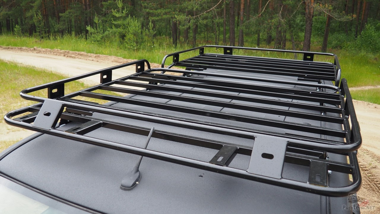 Экспедиционные багажники на УАЗ Пикап