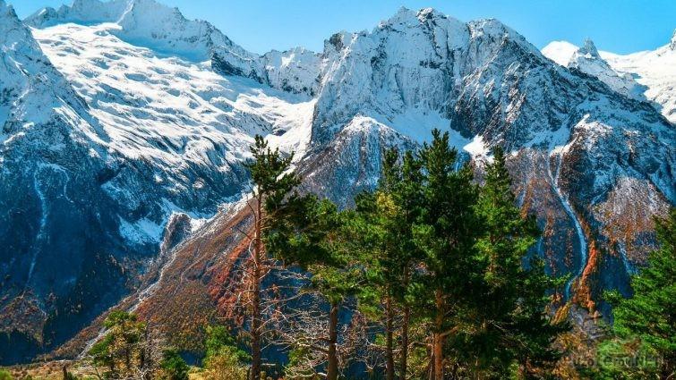 Горы, Домбай