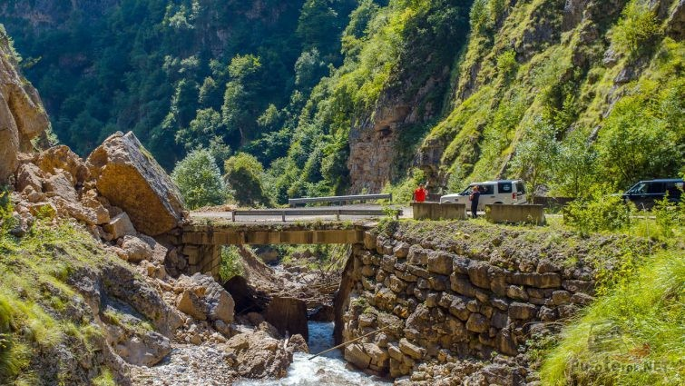 Каменный мост на Кавказе