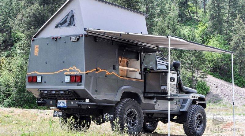 Кемпер Jeep Wrangler Outpost II