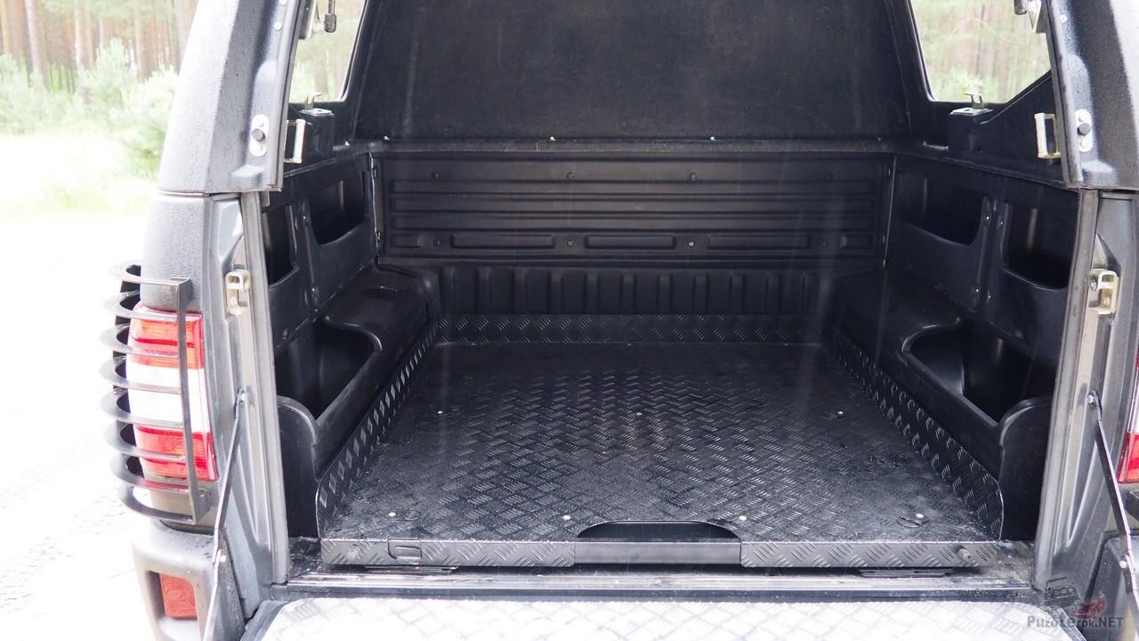 Кузов УАЗ Пикап с боковыми органайзерами
