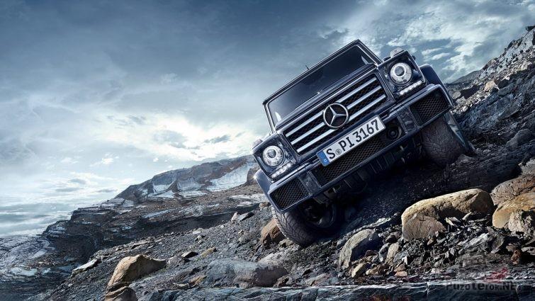 Mercedes-Benz G500 4x4 в горах