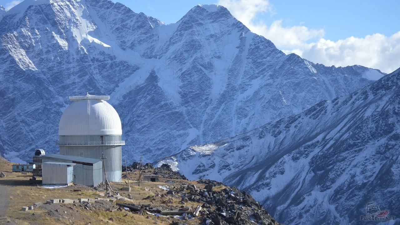 Обсерватория на Эльбрусе
