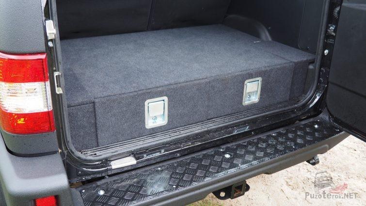 Органайзер в багажник Патриота от ABC-дизайн