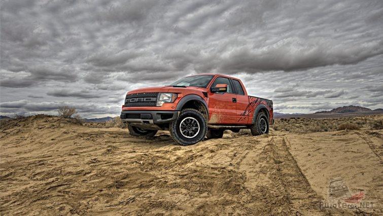 Поездка на Форд пикап