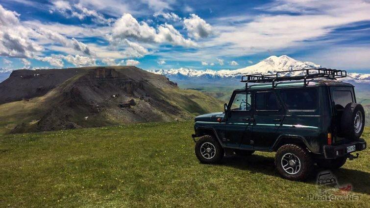 Поездка на плато Бермамыт на УАЗ Хантер