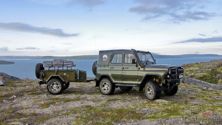 Путешествие на УАЗ с экспедиционным прицепом