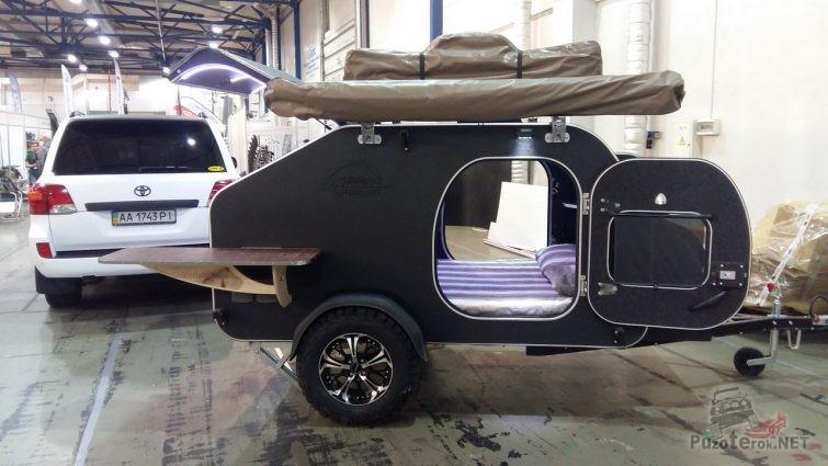 Самодельный прицеп кемпер для путешествий