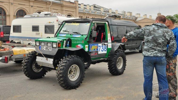 Самодельный прототип для соревнований на Ладоге