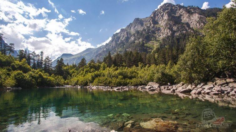 Теберда Бадукские озера