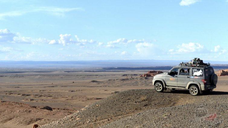 УАЗ Патриот поездка в монголию