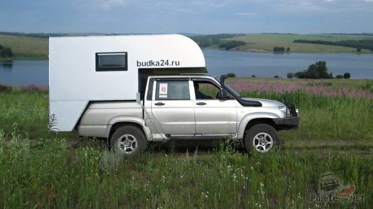 Жилой модуль на УАЗ пикап
