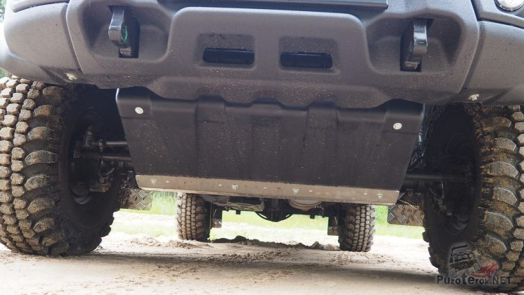 Защита рулевых тяг УАЗ Пикап