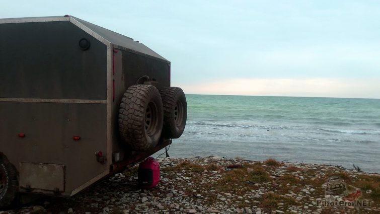 Геленджик, припарковались ночью на море и утром обалдели от красоты