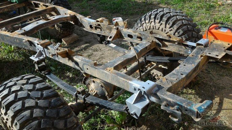 Кронштейны крепления передней рессоры УАЗ Буханка