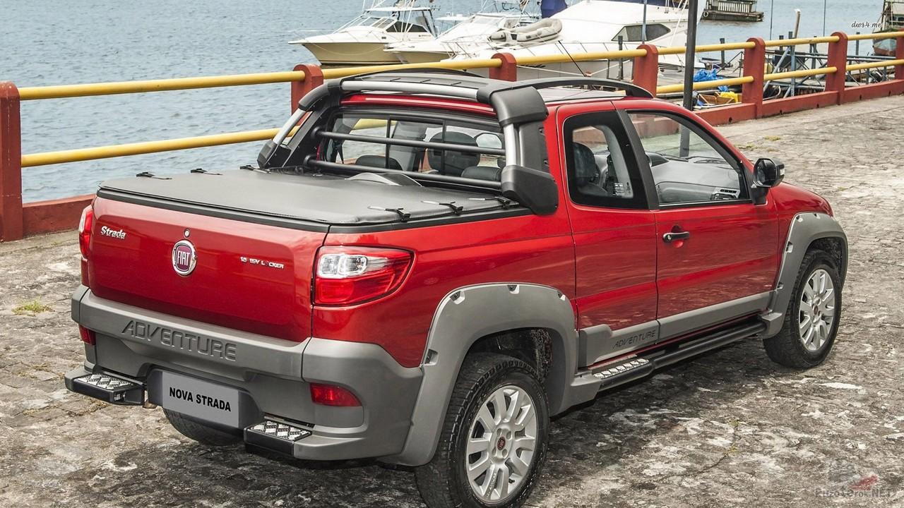 Крышка кузова Fiat Strada