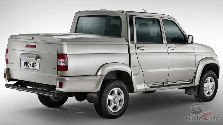 Крышка кузова УАЗ Пикап