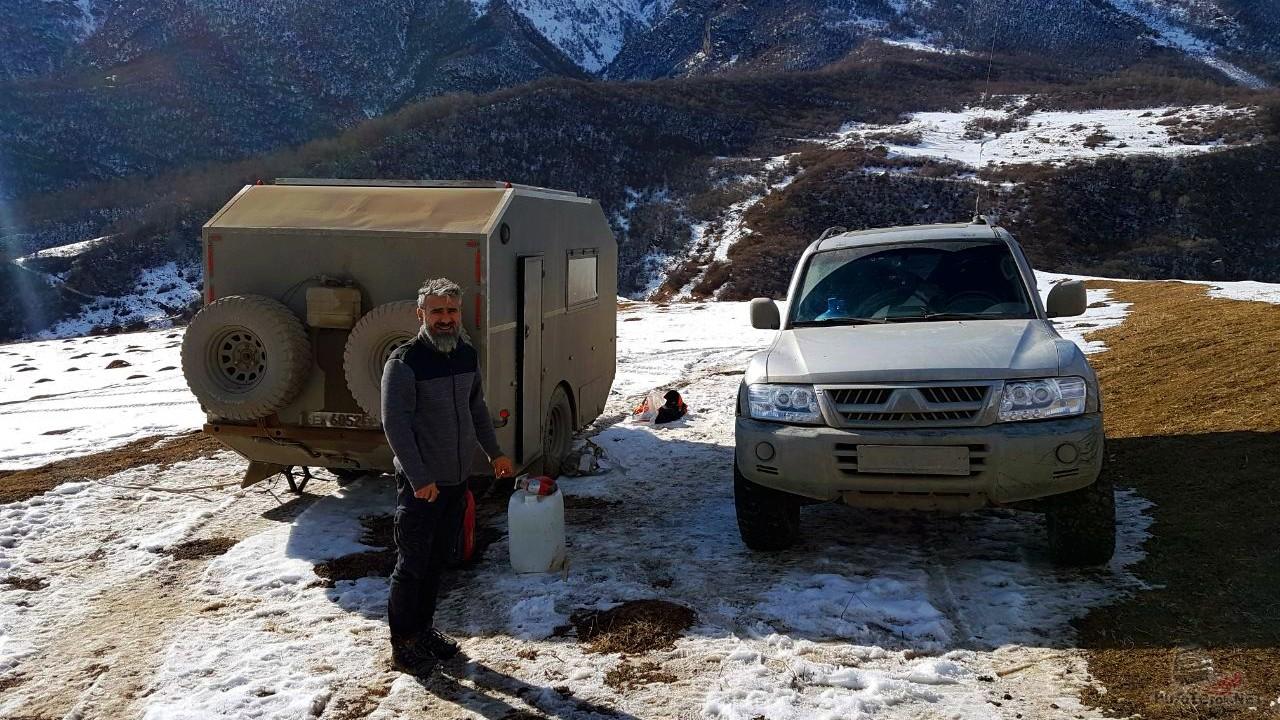 Наш лагерь в Верхней Балкарии