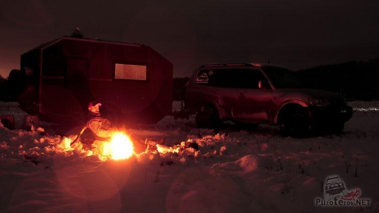 Ночуем где-то в степи Ростовской области