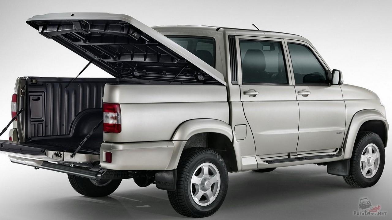 Поднимающаяся крышка кузова УАЗ Пикап