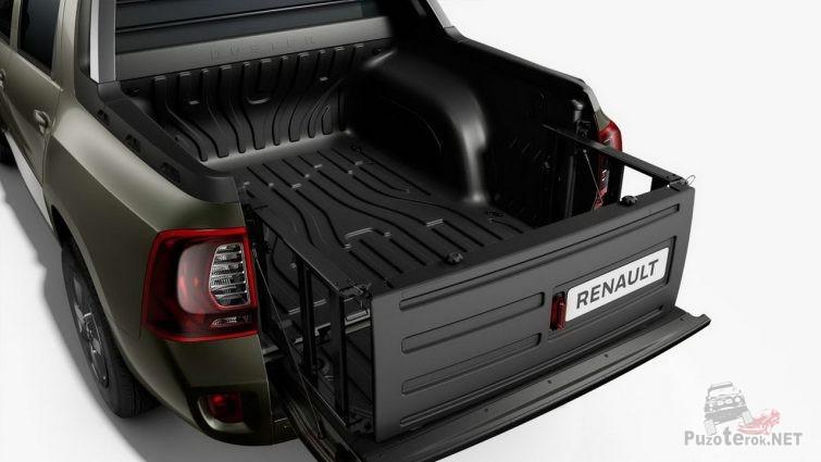 Удлиннитель кузова пикапа Renault Oroch