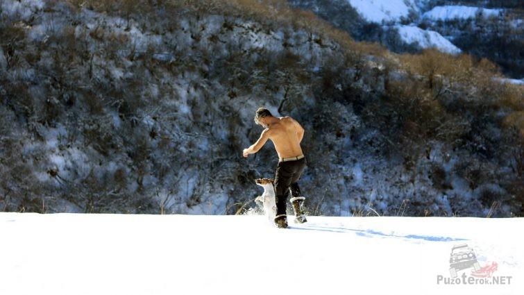 Закаляемся с малышом в горах