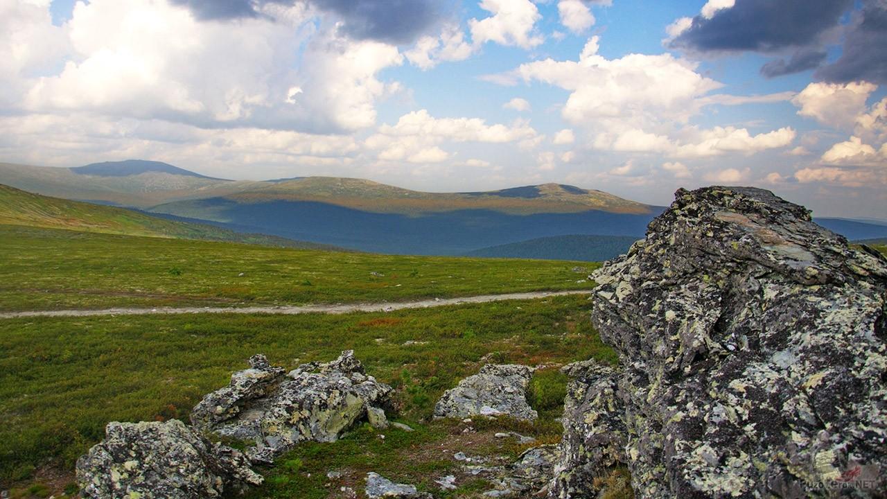 Перевал Дятлова на Северном Урале