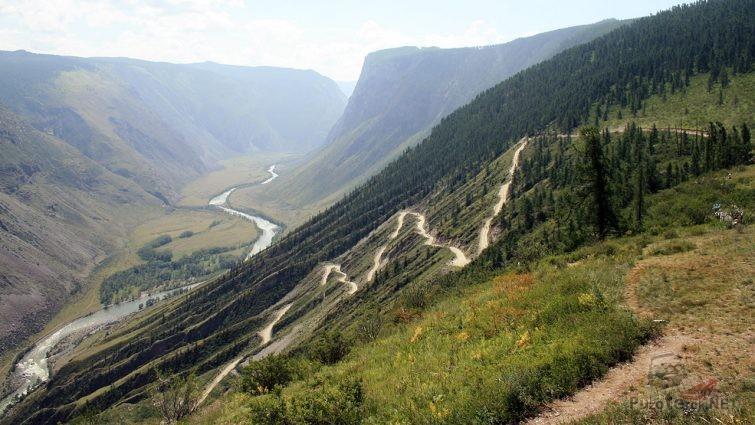 Перевал Кату-Ярык на Алтае
