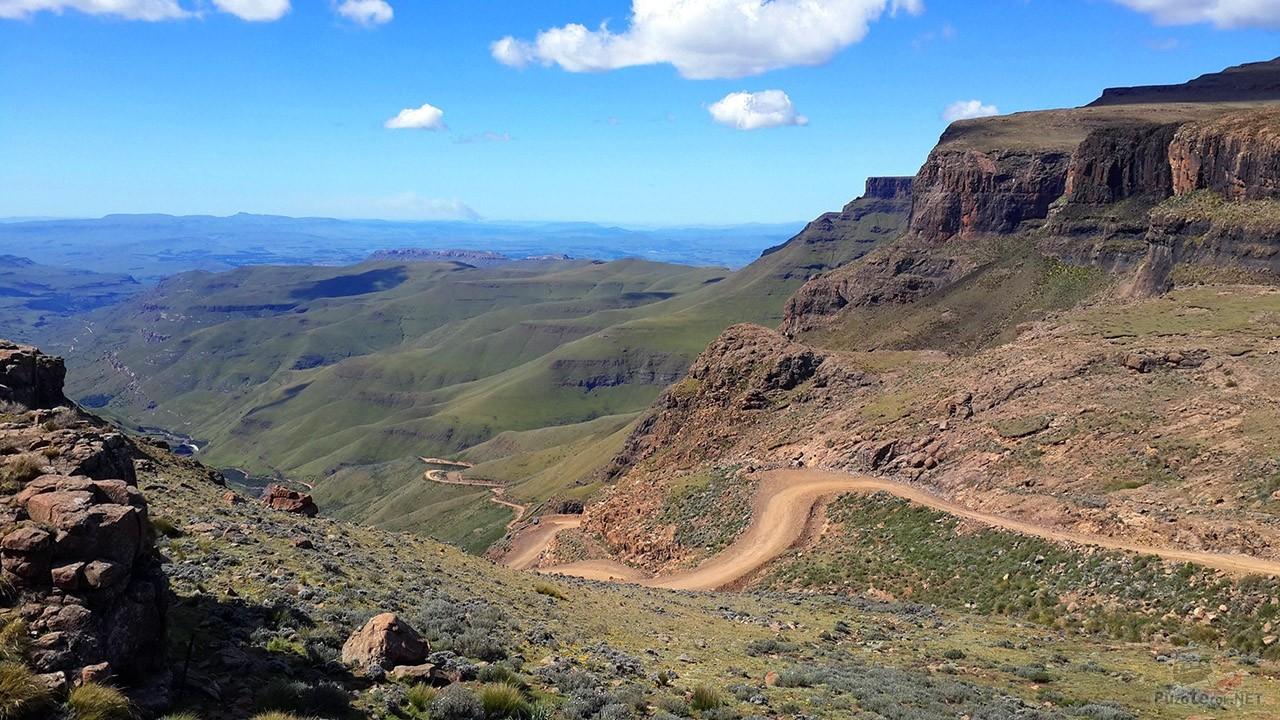Перевал Сани Пасс в Лесото