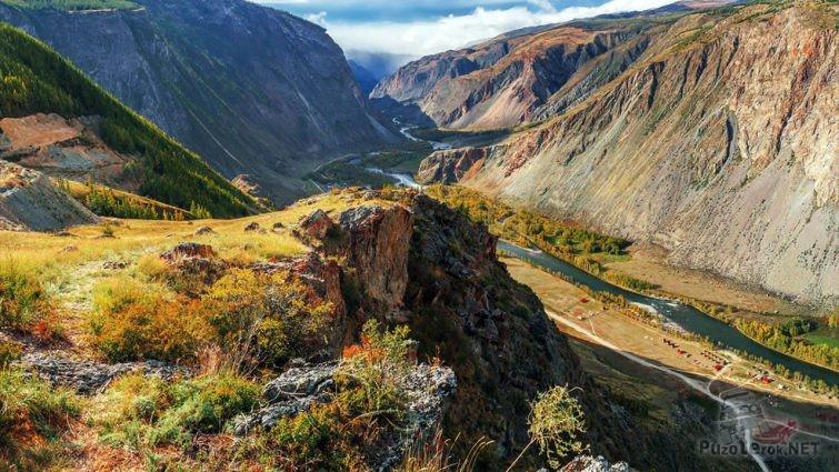 Перевал через Горный Алтай