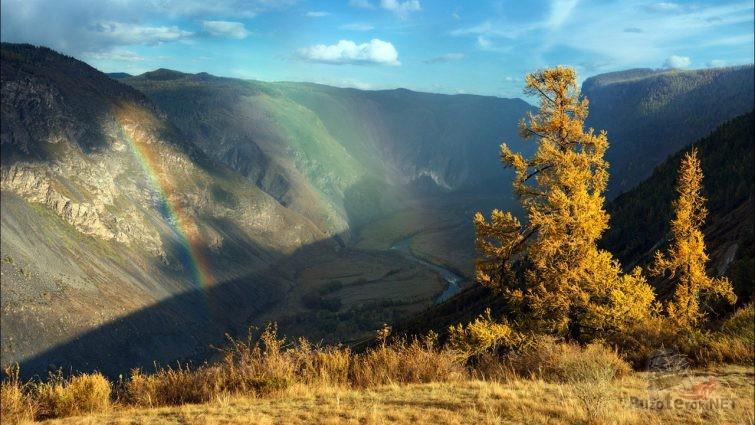 Радуга над перевалом Кату-Ярык