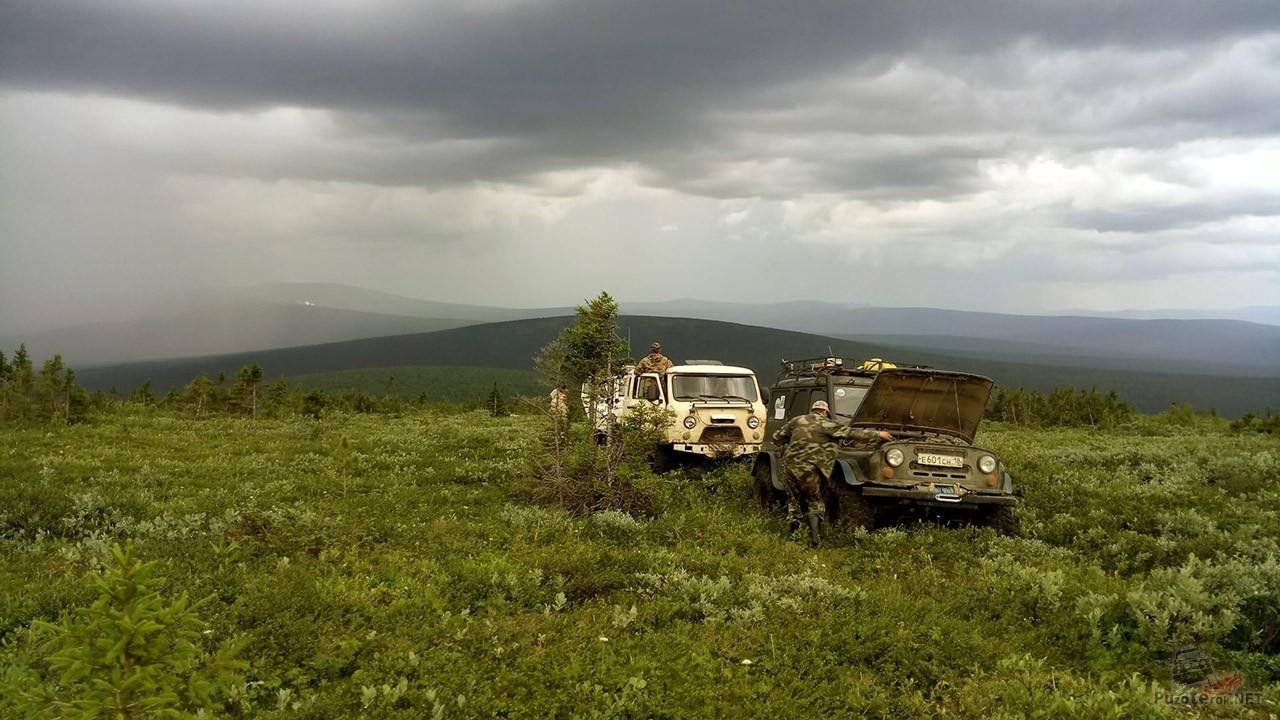 Советский автопром на вершине Северного Урала