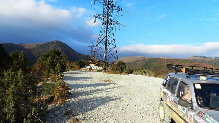 Участок Кабардинского перевала не далеко от Абрау