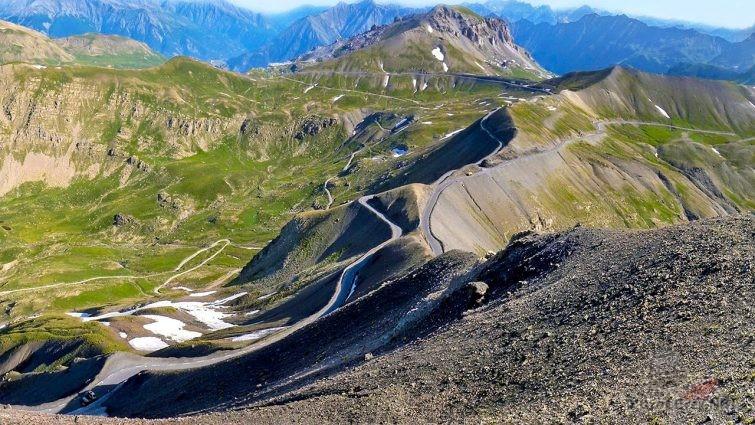 Участок Коль де Турини в Альпах