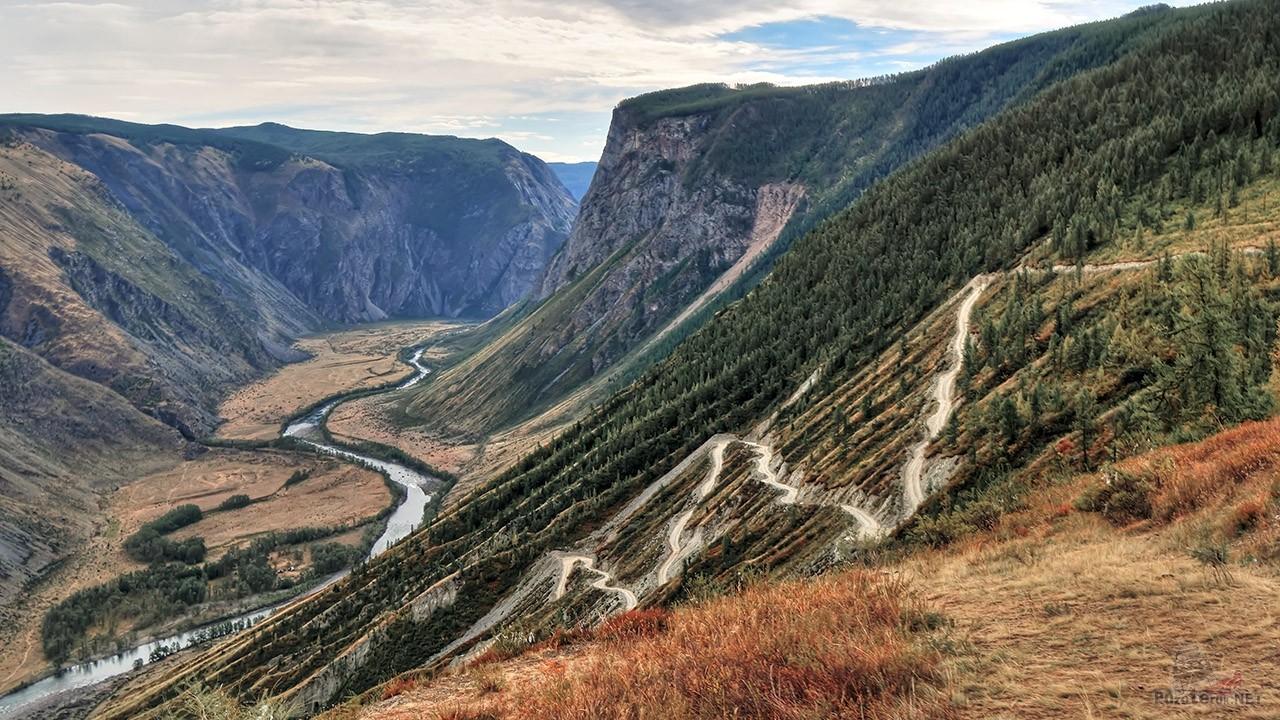 Живописный перевал в Кату-Ярык