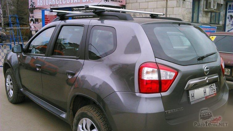 Багажник на крыше Ниссана Террано 2014 года